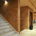 Wandgestaltung mit Farbputzen für den Innen- und Aussenbereich
