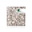 Mosaik Fliesen - Cocomosaic - White Polkadot