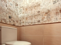 Holzfliesen - Cocomosaic Envi - Puzzle White Wash