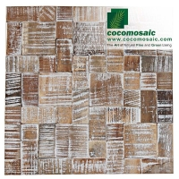 Mosaik Fliesen - Cocomomosaic Envi - Puzzle White Wash