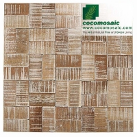 Mosaik Fliesen - Cocomomosaic Envi - Square White Wash