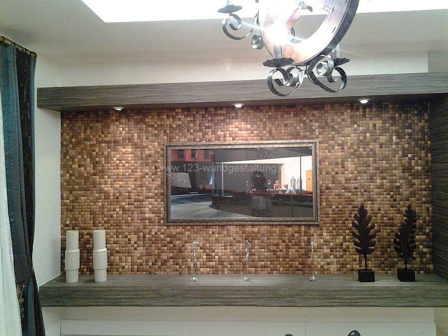Fantastisch Kreative Mosaik Fliesen Aus Der Schale Der Kokosnuss   Cocomosaic, Moderne  Deko · Wandgestaltung Wohnzimmer ...
