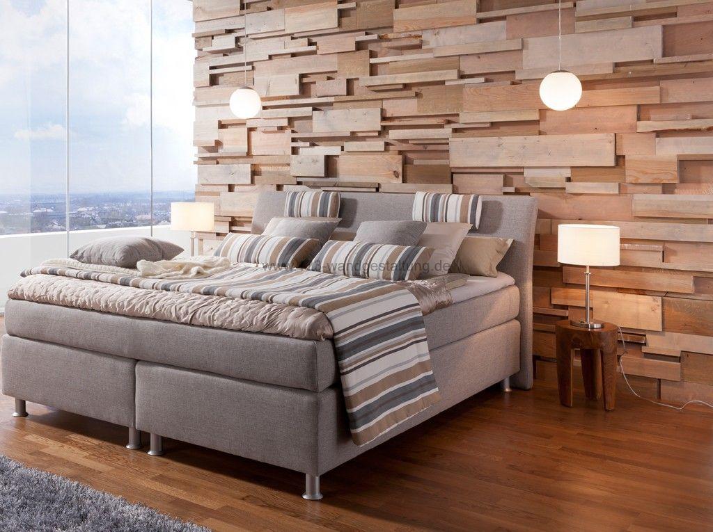 schlafzimmer ideen wandgestaltung holz: kreative idee f?r ... - Schlafzimmer Ideen Wandgestaltung Holz