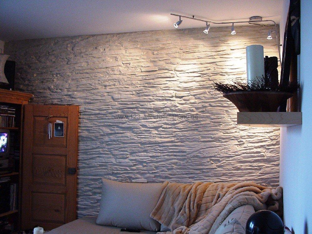 mediterrane steinwand wohnzimmer 2 ~ moderne inspiration ... - Wandgestaltung Wohnzimmer Mediterran
