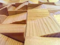 Holzpaneele- Blocks - Ramp - Fichte / Tanne