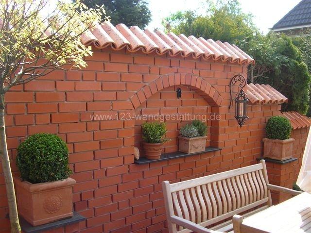 gartenmauer mediterran gestalten – nomadx, Garten seite