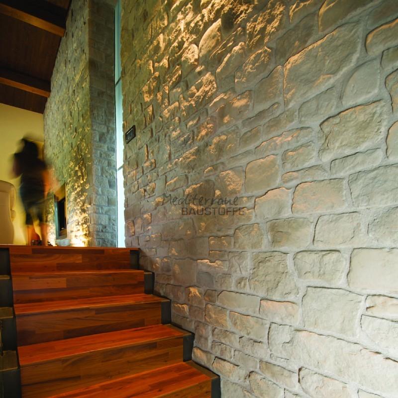 Kunststein Wandverkleidung – Arenal ähnlich Feldsandsteinoptik
