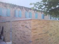 Steinpaneele Canonau Ocker Mediterran