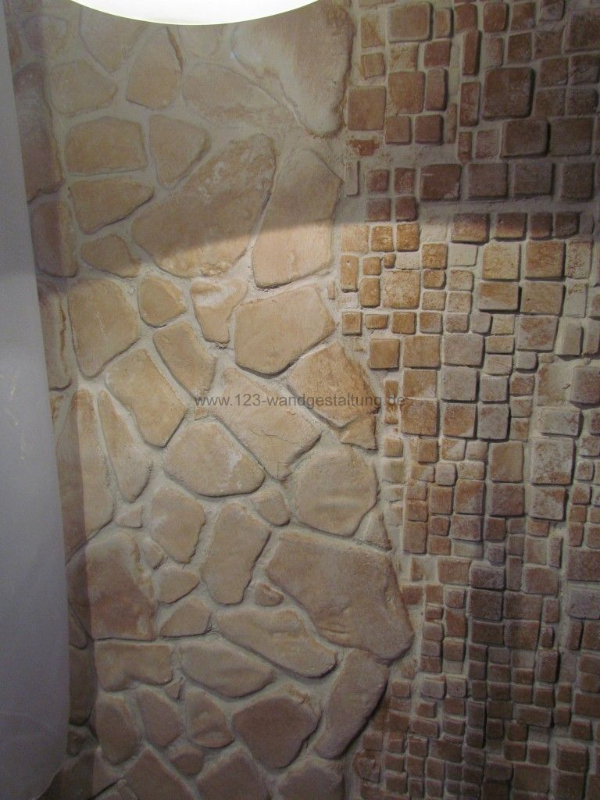 Mediterrane Steinwand Tapete : Wohnzimmer Steinwand Beleuchtung: D Fliesenplanung vom Fliesenplaner
