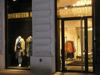 Kunststeinpaneele Manhatten weiss - Ladenbau Modegeschäft