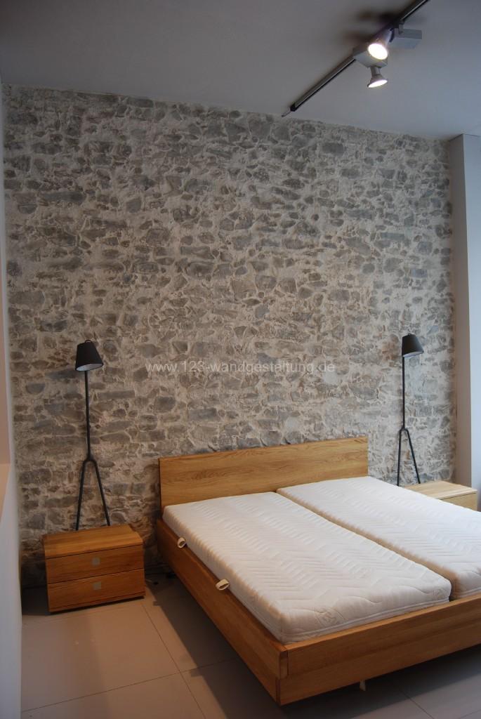 mediterrane wandgestaltung mit marsalla antik grau schlafzimmer - Mediterrane Wandgestaltung