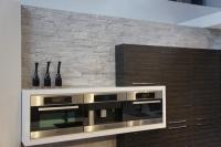 Kunststeinpaneele Dundee Creme - Küchenrückwand