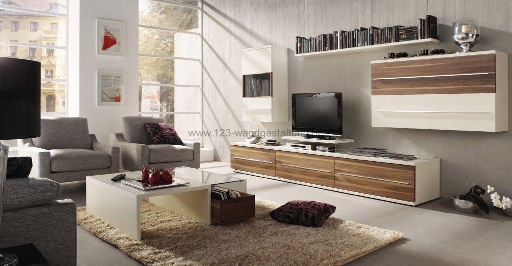 Höchst Farbgestaltung Wohnzimmer Streifen Gemälde