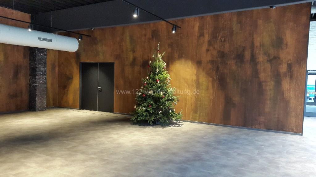 Superb Home Life Wandgestaltung Winter Mit. Als Kontrast Wurde Mit Zwei  Unterschiedlichen Kunststeinpaneelen In . Great Pictures