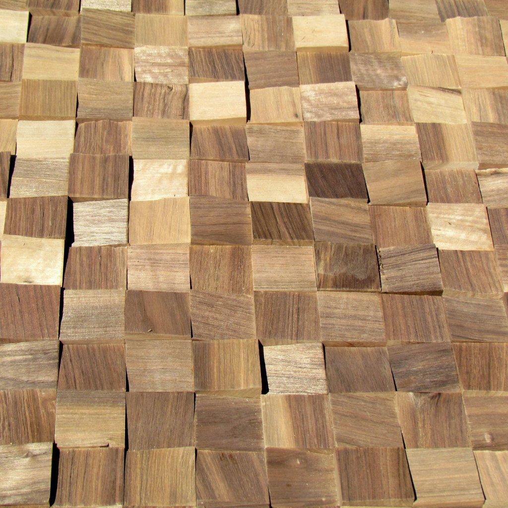 Holzpaneele - Ambiente Wood - Blocks Gently Nuss