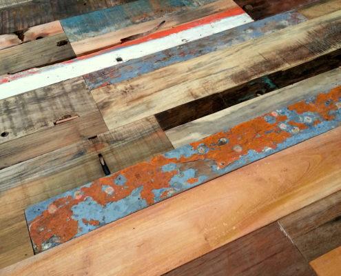 Holzpaneele - TeakYourWall Boat - Details