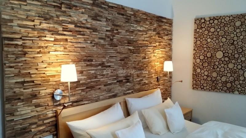 Schlafzimmer ideen wandgestaltung holz  Wandgestaltung aus Holz Archive - Der Partner für kreative ...