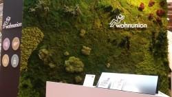 Mooswand - Moosbilder - Messebau