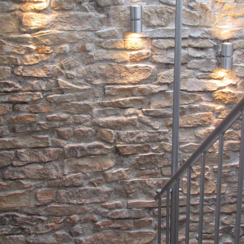 Wandgestaltung Mediterrane Steinwaende Canonau