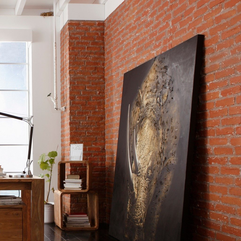 Wandgestaltung Steinwaende Ziegelsteinoptik Brooklyn