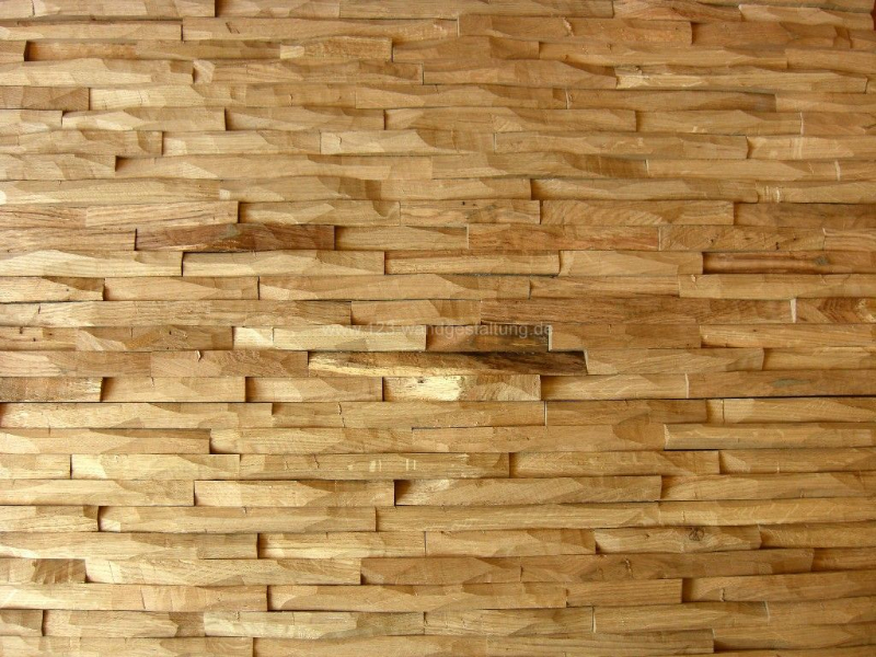Innenarchitektur Programm innovative wandpaneelen aus massivholz kollektion cuts oak