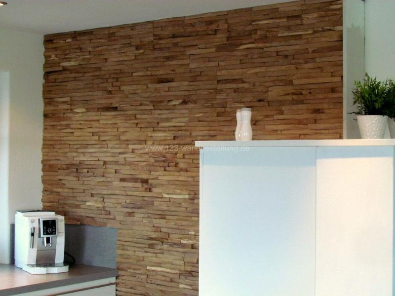 Dekorative und Innovative Wandverkleidung aus Holz