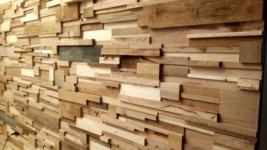 Holzwand Fields Innovative Wandgestaltung Aus Holz