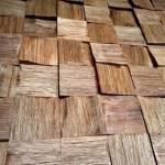 Holzverkleidung Blocks - Gently 5 x 5 cm - Nussholz