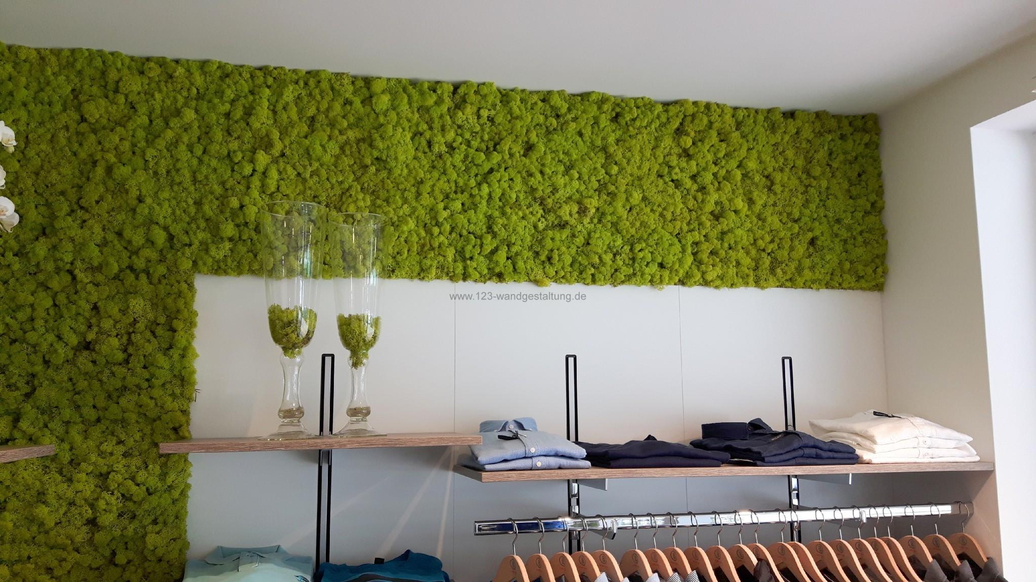 stabilisiertes moos archive der partner f r kreative wandgestaltung und fassadenverkleidung. Black Bedroom Furniture Sets. Home Design Ideas