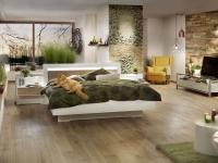 Mooswand - Moosbild - Curly und Islandmoos - Schlafzimmer