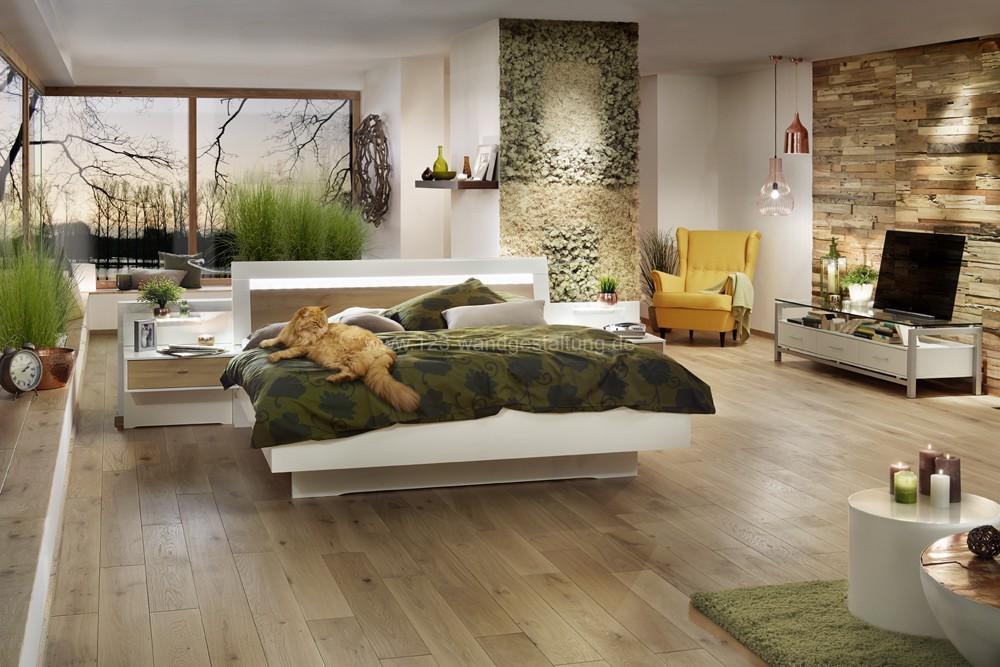 Mooswand   Moosbild   Curly Und Islandmoos   Schlafzimmer