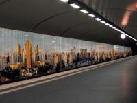 Mosaikfliesen Glassdecor als Fassadenverkleidung