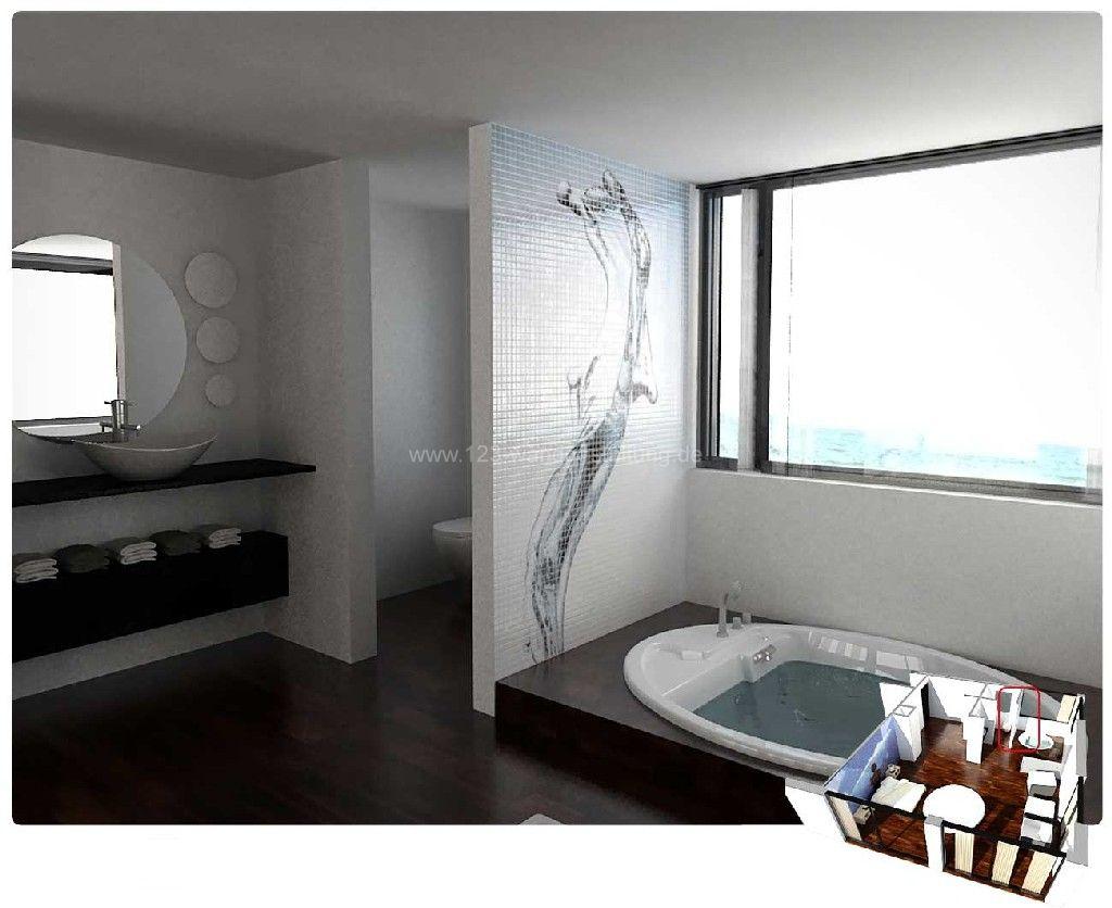 Mosaikfliesen Glassdecor Im Badezimmer