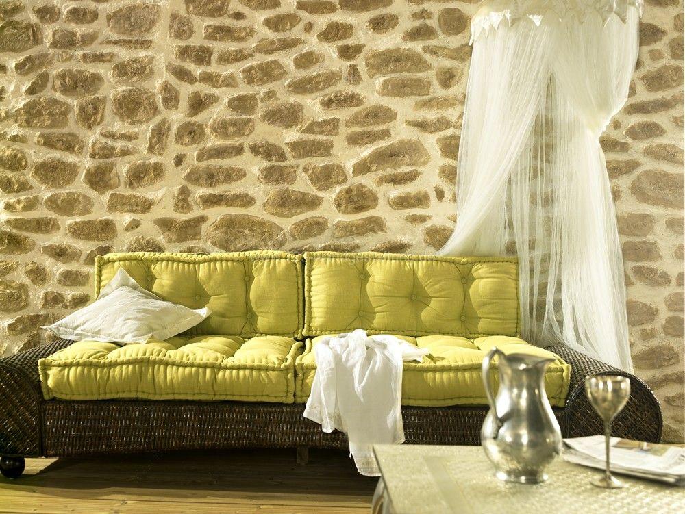 kunststeinpaneele florina f r eine steinmauer in. Black Bedroom Furniture Sets. Home Design Ideas