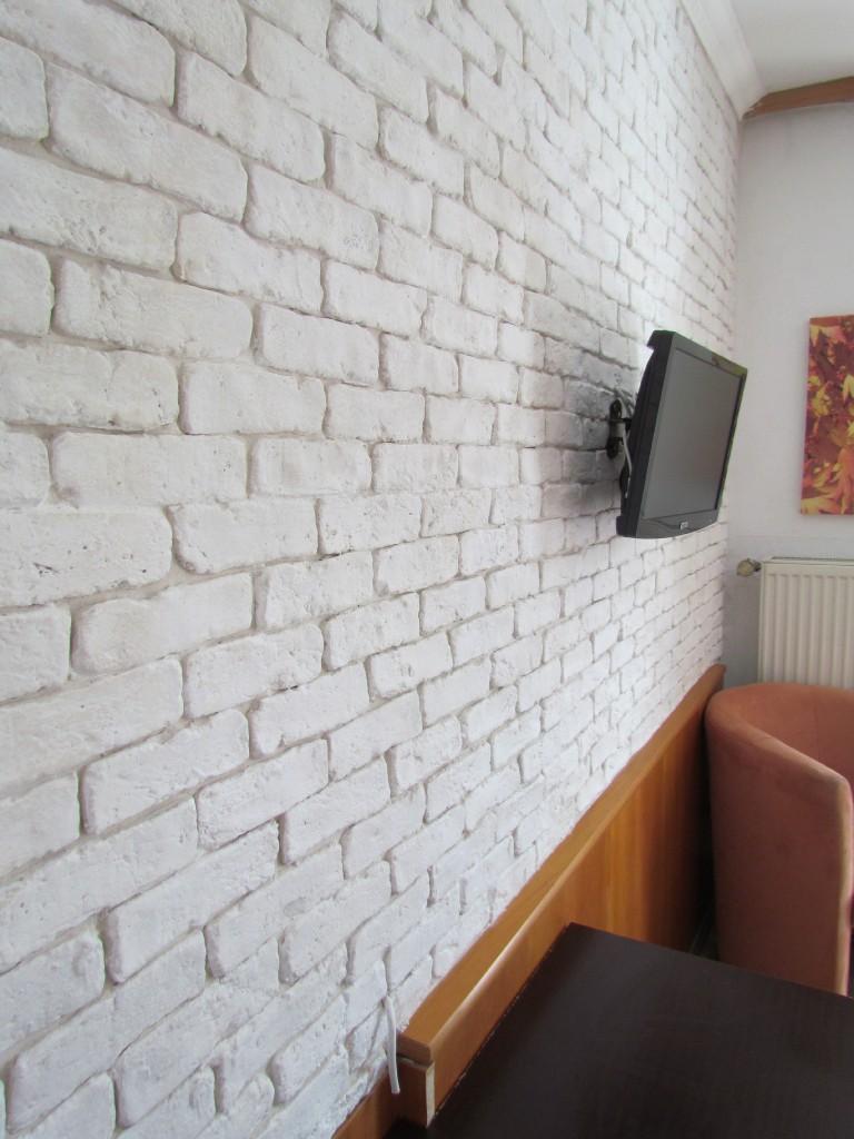 kunststeinpaneele manhatten steinwand in rustikaler ziegeloptik. Black Bedroom Furniture Sets. Home Design Ideas