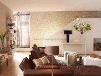 Mediterrane Wandgestaltung mit Marsalla - Ocker - Wohnzimmer