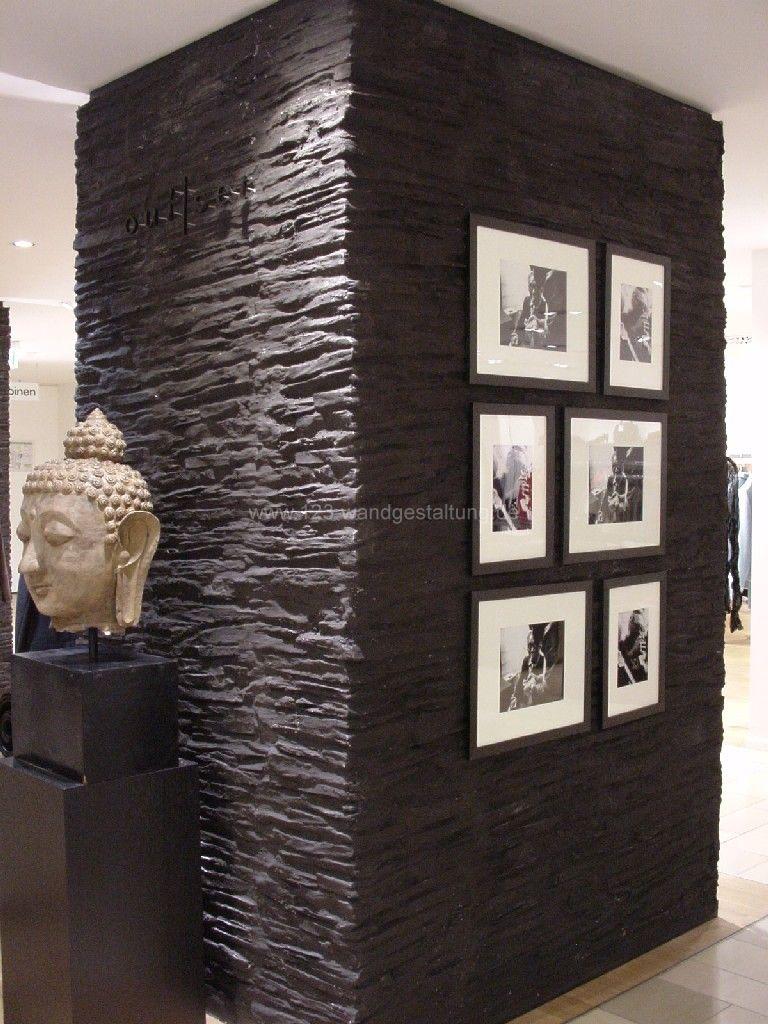 wandpaneele schiefer optik von design wandpaneele stein optik paneele wanddeko with wandpaneele. Black Bedroom Furniture Sets. Home Design Ideas