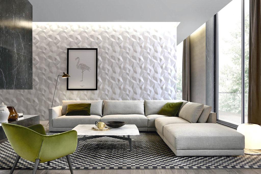 Piestone Design - 3D-Wandpaneele - Für das Besondere Interieur