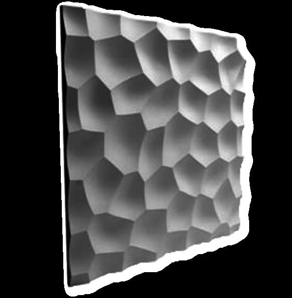 Piestone Design - 3D - Wandpaneele Arktis