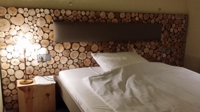 For-Rest - Holzpaneele Sticks Mini - Hotelzimmer
