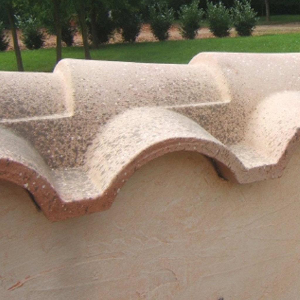 Gartengestaltung Mauerabdeckung Chaperon Bourgogne