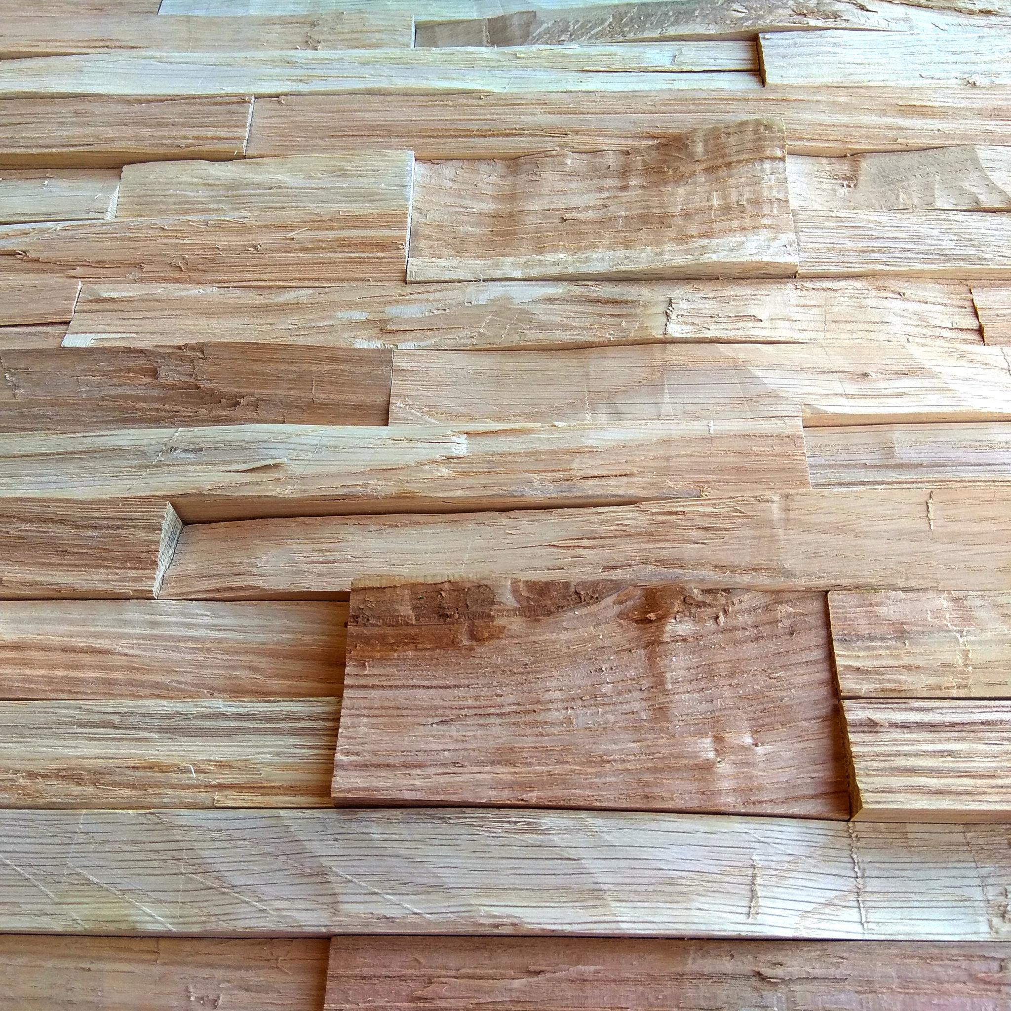 Holzpaneele Gently Flat Eiche Details