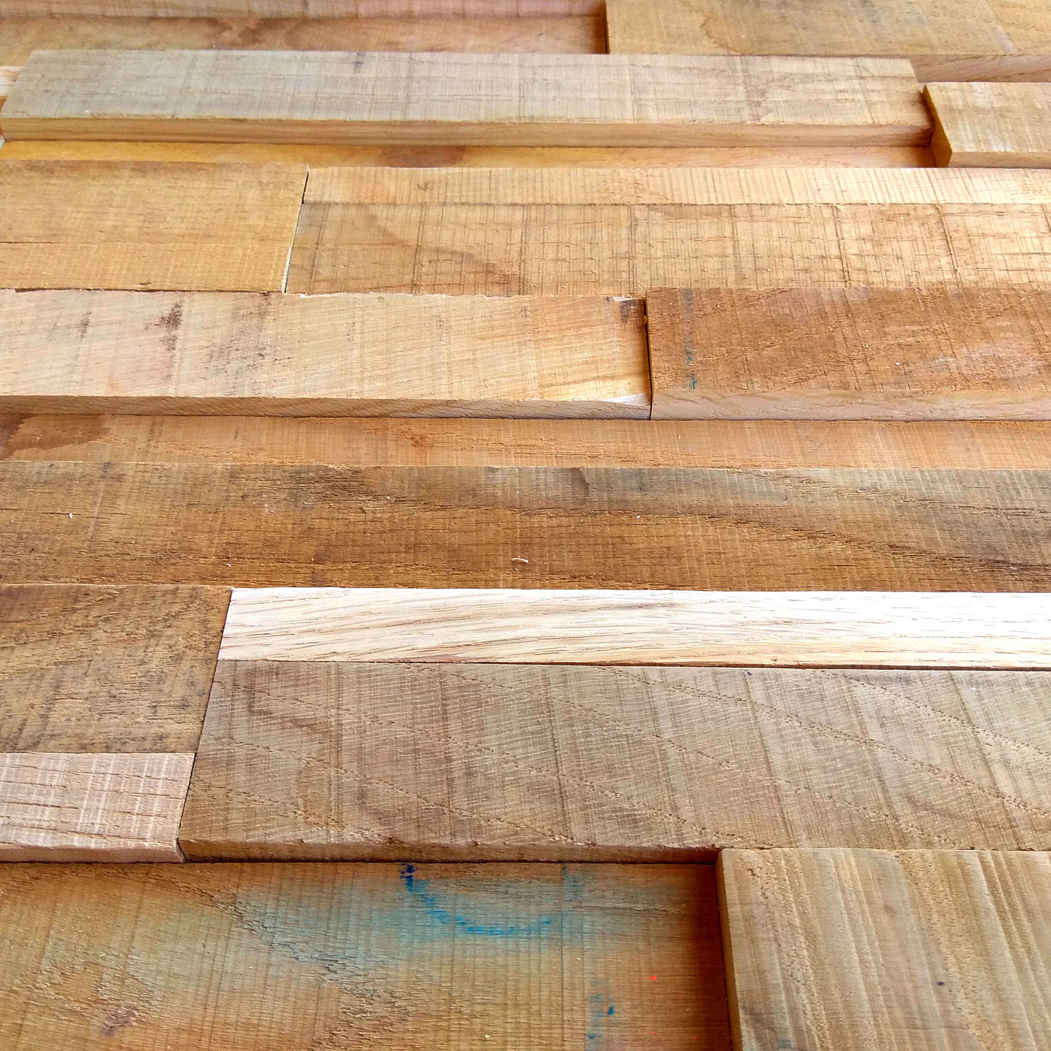 Holzpaneele Indigo Details