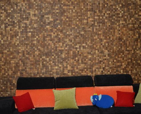 Mosaikfliesen - Cocomosaic - Natural Grain - Wohnzimmer