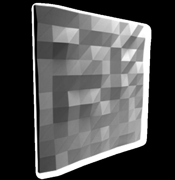 Piestone Design - 3D - Wandpaneele Origami
