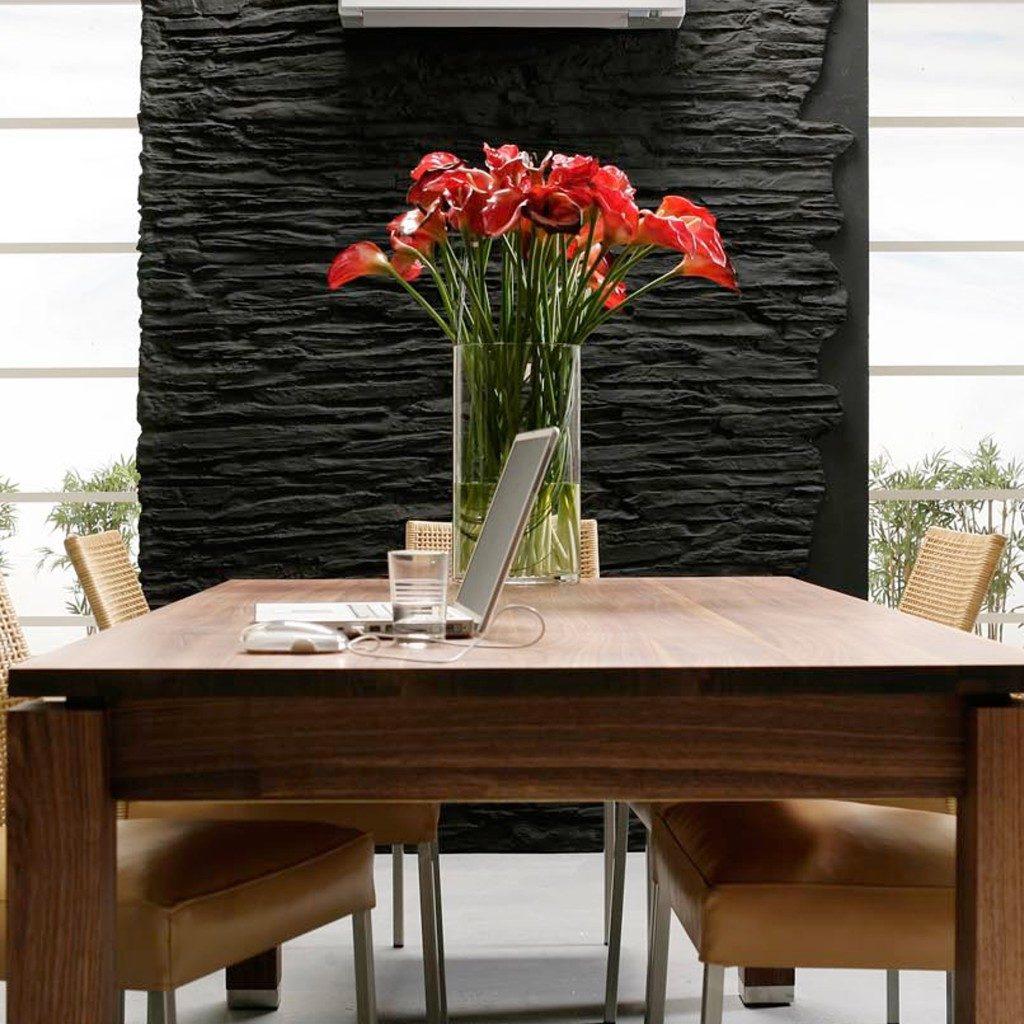 Wandgestaltung Moderne Steinwaende Shetland