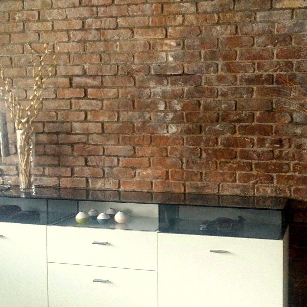 Wandgestaltung Steinwaende Ziegelsteinoptik Bronx