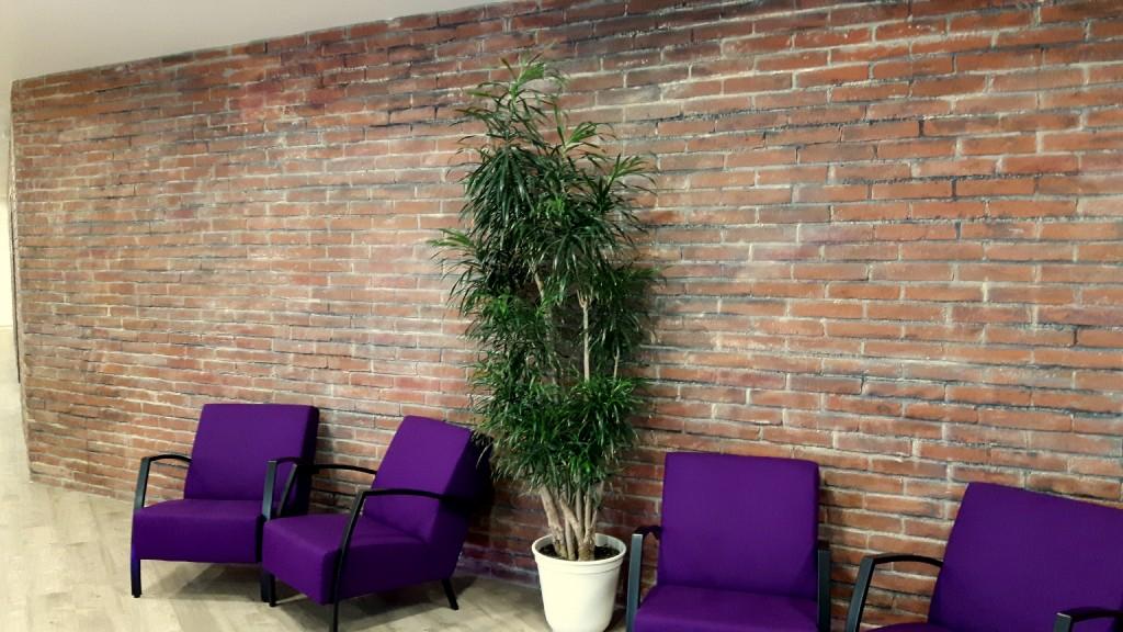 Wandgestaltung - Ziegelstein Optik - Venezia - Ladenbau